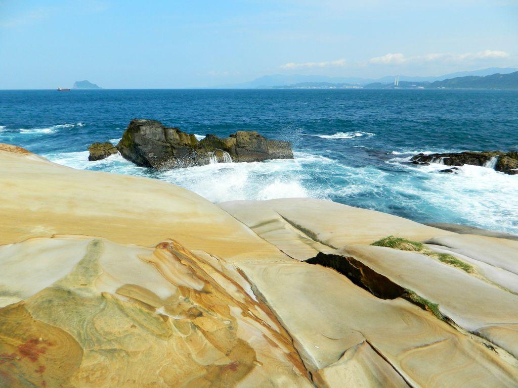 Красивые скалы на маршруте, Тайвань