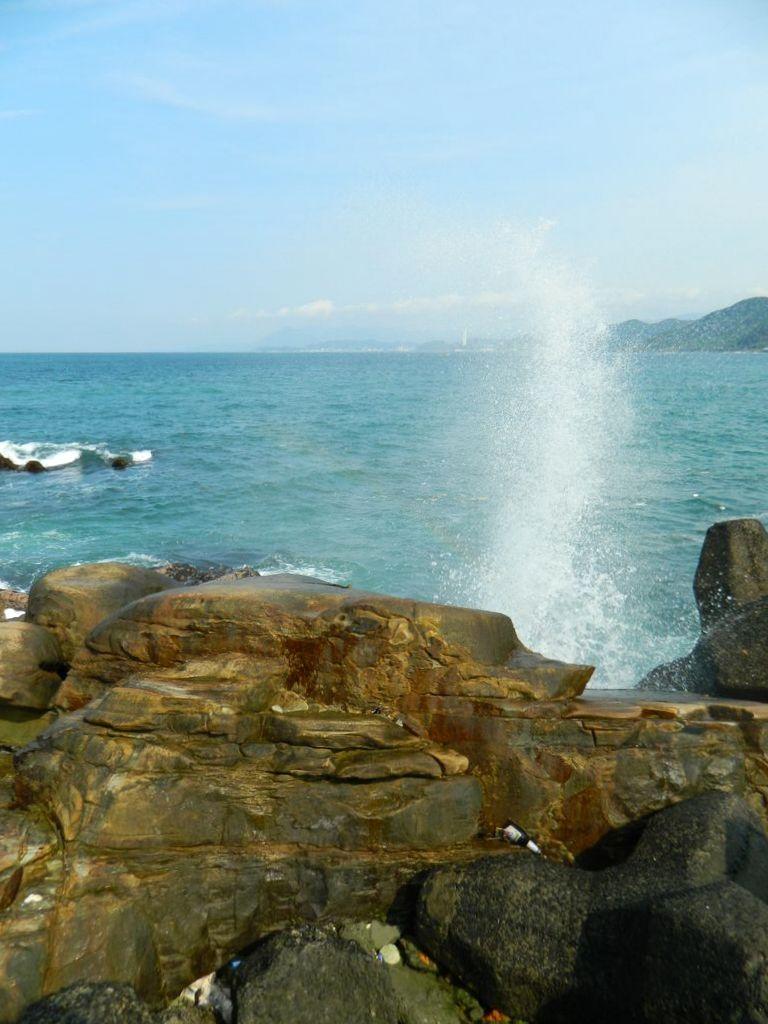 Брызги волн, Тайвань