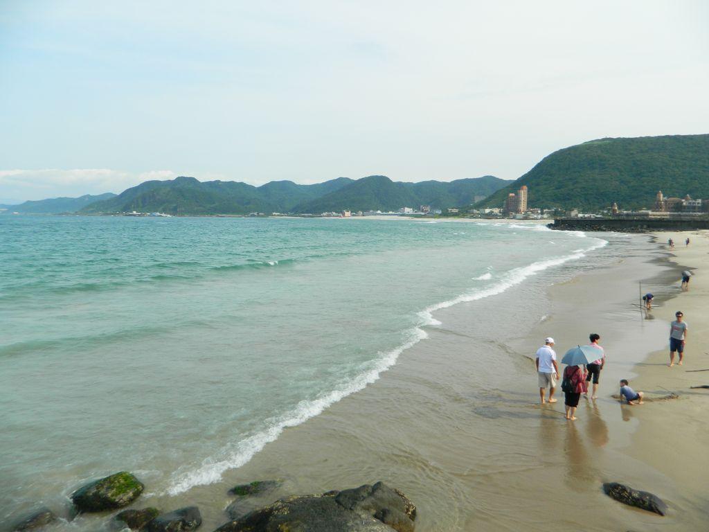 Shijiao Beach, Тайвань