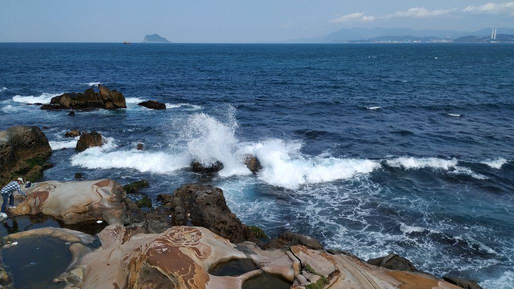 Морские пейзажи Тайваня