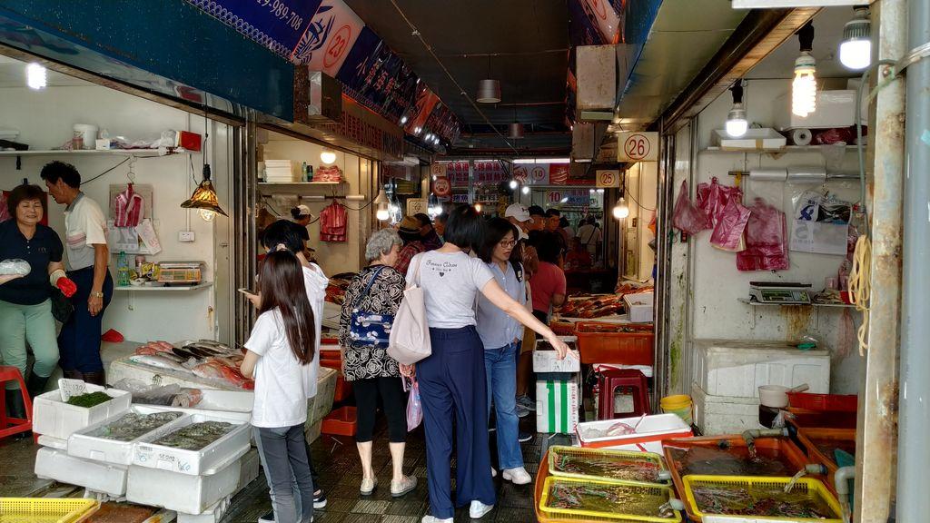 Рынок морепродуктов Guihou